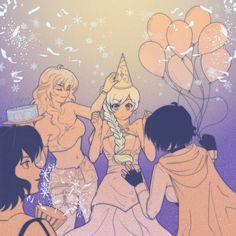 Rwby Anime, Rwby Fanart, Rwby Characters, Rwby Comic, Rwby Ships, Team Rwby, Queen Birthday, Cute Lesbian Couples, Rooster Teeth