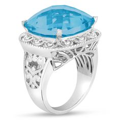 Ebay NissoniJewelry presents - Lovely Fashion Ring with Blue Onyx in Sterling Silver 925    Model Number:FR8186-SIPBLON    http://www.ebay.com/itm/Lovely-Fashion-Ring-with-Blue-Onyx-in-Sterling-Silver-925/221630587452