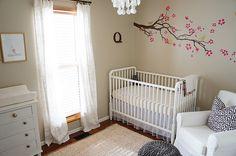 Lovely white nursery 1.
