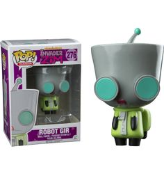 Invader Zim - Robot Gir Pop! Vinyl Figure Main Image