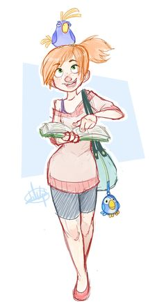 Birds Don't Study sketch by LuigiL on deviantART ★ || CHARACTER DESIGN REFERENCES (www.facebook.com/CharacterDesignReferences & pinterest.com/characterdesigh) • Love Character Design? Join the Character Design Challenge (link→ www.facebook.com/groups/CharacterDesignChallenge) Share your unique vision of a theme every month, promote your art and make new friends in a community of over 20.000 artists! || ★
