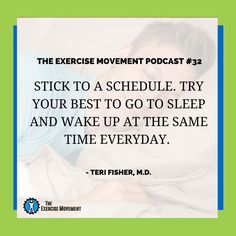 TEM 032 All About Sleep - The Exercise Movement Canada - Top Beachbody Coaches: