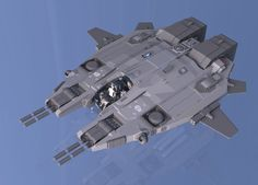 Reaver Gunship WiP by ~Quesocito on deviantART