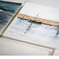 Sketchbook by Cristina Sammarco #mediterraneanart