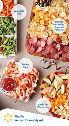 Kick off your holiday meal with these easy appetizer ideas. Check out Walmart's weekly ad to find easy ideas to make your holiday party a classic.