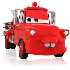 Hallmark Keepsake Ornament Disney/Pixar Cars Mater to The Rescue! Fire Truck