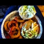 church_johnson - @church_johnson » Instagram Profile » Followgram  #onionrings #cheeseburger