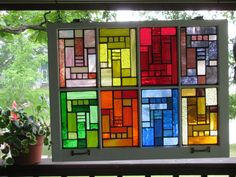 Mosaic Windows for your Home & Garden