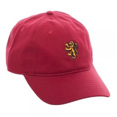 Harry Potter Gryffindor Dad Hat Harry Potter Style 66fd8fea66c