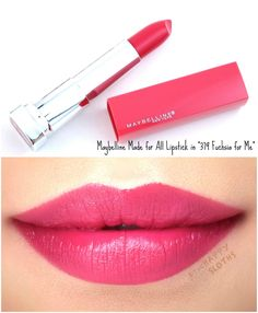 Cosmetic Bay offers the very best cosmetics and accessories at unbeatable prices. Drugstore Lipstick, Peach Lipstick, Lipstick For Fair Skin, Lipstick Swatches, Lipstick Colors, Lip Colors, Lipsticks, Lipstick Tricks, Maybelline Makeup