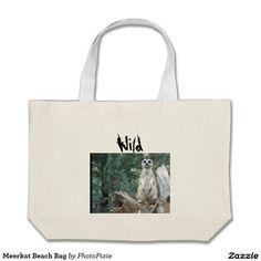 Meerkat Beach Bag