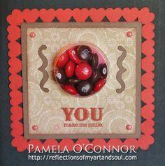 Cricut Artiste Valentine Candy Card by Pamela O'Connor