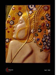 Alabastro Moldeado. Fondo madera decorado con pan de oro. Policromía al óleo. Pátina antigua. Fragmento en relieve basado en la conocida obra del ...