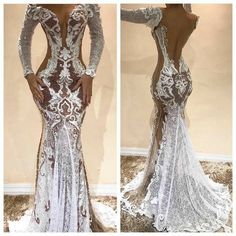 Wedding Gowns With Sleeves, Sexy Wedding Dresses, Long Sleeve Wedding, Elegant Dresses, Sexy Dresses, Bridal Dresses, Evening Dresses, Fashion Dresses, Prom Dresses
