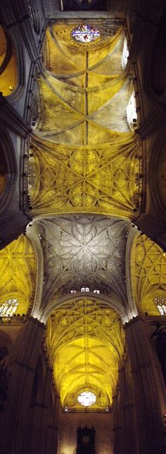 Sevilla Cathedral Ceiling
