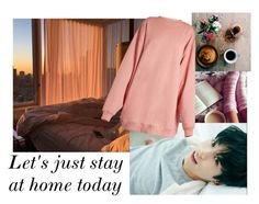 """""""Let's just stay at home today"""" by claaudinlov on Polyvore featuring moda y Acne Studios"""