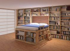 Bed Biblioteca  bed biblioteca