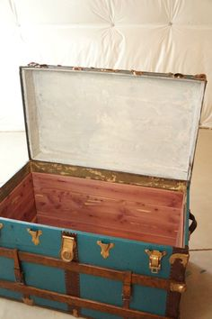 Follow this step-by-step DIY cedar lining tutorial to repurpose a vintage trunk or make your own cedar chest.