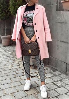 Modetrends Herbst-Winter Mode Herbst Winter … - Damen und Mode Street Style Outfits, Mode Outfits, Fashion Outfits, Fashion Clothes, Fashion Ideas, Casual Outfits, Classy Outfits, Pretty Outfits, Nike Street Style