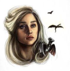 Daenerys Targaryen by perilousrealms