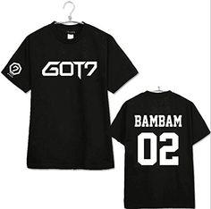 KPOP GOT7 Tshirt Bambam JB JR Mark Youngjae Jackson T-shirt Tee M BamBam SUYA http://www.amazon.com/dp/B00YOG10WI/ref=cm_sw_r_pi_dp_TzCKwb1BCKXX6