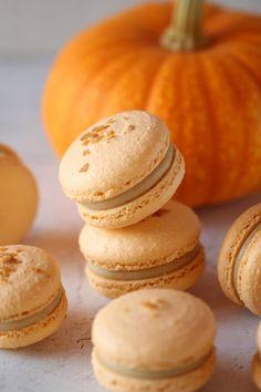 Macaron Filling, Macaron Flavors, Pie Flavors, Macaron Recipe, Pumpkin Pie Cheesecake, Pumpkin Pie Spice, Macarons Easy, Pie Spice Recipe, The Help