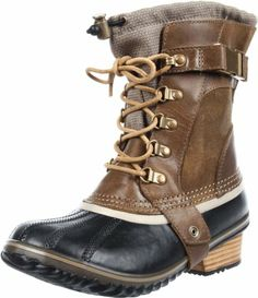Amazon.com: Sorel Womens Conquest Carly Short Boot: Shoes