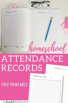 The EASY way to keep your homeschool attendance records! Click through to grab this free printable homeschool attendance tracker, and see how to use it for one child or your whole family! Track hours or daily attendance tracking. Homeschool Apps, How To Start Homeschooling, Homeschool Kindergarten, Montessori Homeschool, Homeschooling Resources, Attendance Tracker, School Attendance, Geography For Kids, Resource Room