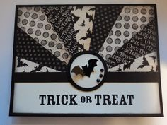 Card Corner by Candee: Starburst Halloween Card