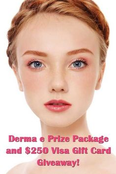 Derma E Goodies and $250 Gift Card Giveaway!