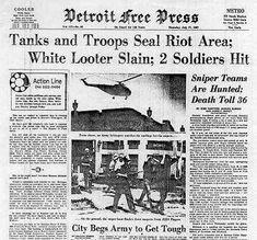 Vintage Newspaper Example