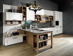 Cucine bicolore | Home decor | Kitchen, Decor e Home Decor