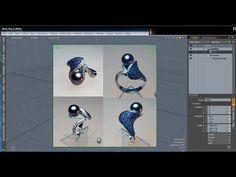 Jewelry ring in Modo / Моделирование ювелирного кольца в Luxology modo.