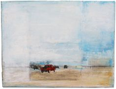 Encaustic oil on boards, Little Compton, RI by David Gonville