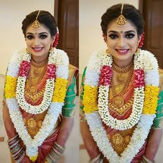 She is soooo pretty 😍😍😍 South Indian Wedding Hairstyles, Bridal Hairstyle Indian Wedding, South Indian Weddings, Bride Hairstyles, Tamil Wedding, Wedding Bride, Saree Wedding, Indian Marriage, Bride Photography