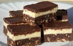 Tejszínes csokoládékocka – sütés nélkül! Szenzációs ez a krém!