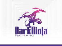 Dark Ninja Logo Template