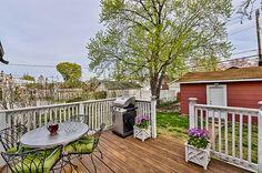 My craftsman home - back deck