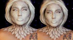 Heaven and Hell Angel Halloween Makeup Tutorial | Jordan Hanz / Kristen ...