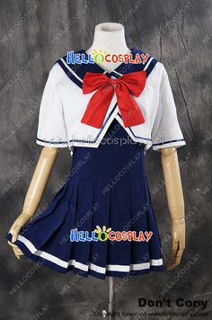 Vocaloid 2 Cosplay Hatusne Miku School Girl Uniform Costume