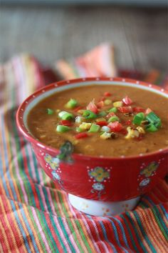 Slow Cooker Corn and Red Pepper Chowder #recipe