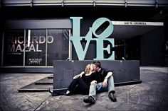 LOVE Sign on Georgia Street