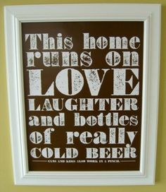for my house