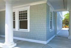 Hardie Shingles Hardie Shingles With Laced Corners New House Exterior Pinterest Corner