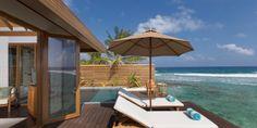 Anantara Veli Resort & Spa: Ocean Pool Bungalows have spacious terraces and private plunge pools.
