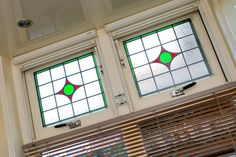 Jaren30woningen.nl | Glas in lood in een #jaren30 woning
