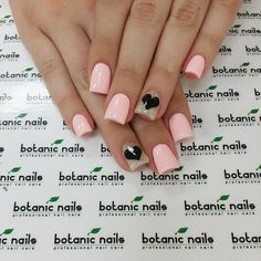 pink nails !!! cute!!!!