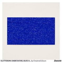 Hearts bokeh light background blue business cards options glittering dark royal blue ocean white sparkles te colourmoves