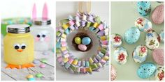 Hop to It! 60 Easy and Beautiful Crafts to Make This Easter   These handcrafted Easter ideas will put a fresh face on spring.