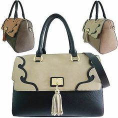 Ladies Designer Dsuk Emma Tote Bag Faux Leather Lydc Shoulder Bag ...